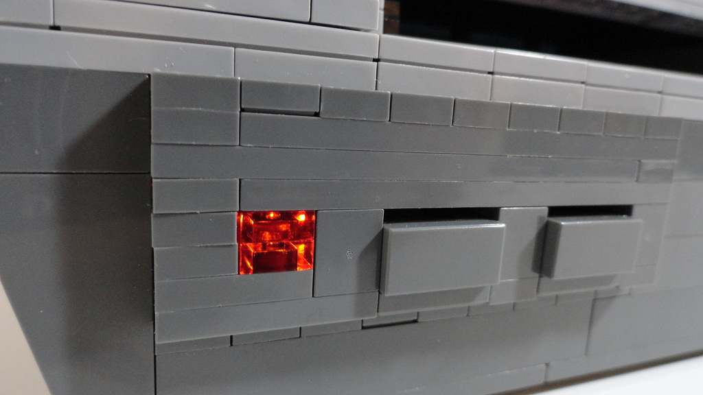 Light for the power button