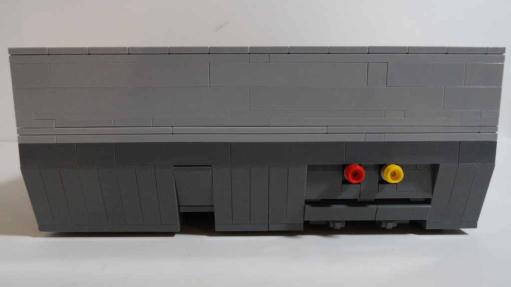 Right side of the NES