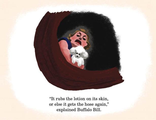 Pixar Silence of the Lambs Lotion hole dog scene