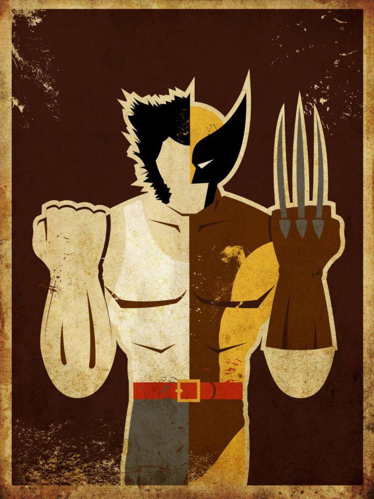 Superheroes series Wolverine Logan