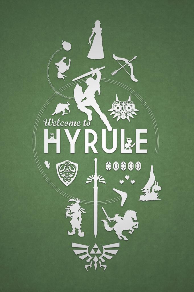 Hyrule from The Legend of Zelda