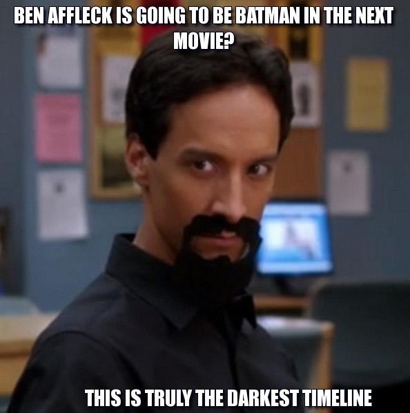 Evil Abed Reaciton