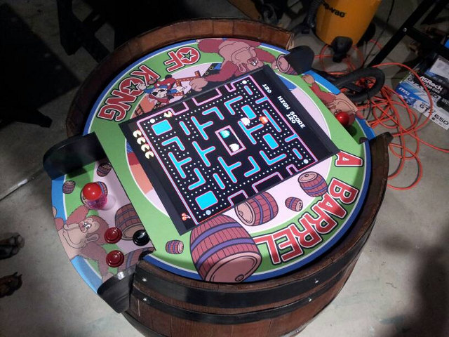 Get Back In The Dorm With This Custom Sit Down Donkey Kong