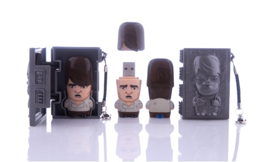 Han Solo with Carbonite Case Mimobot