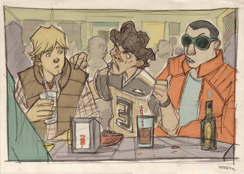Luke at the cantina