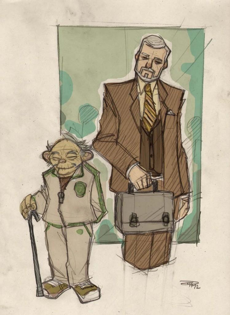 Yoda and Ben Kenobi