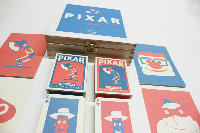 Pixar Playing Cards entire set