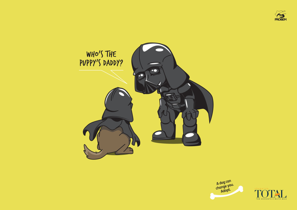 Darth Vader Cute Puppy