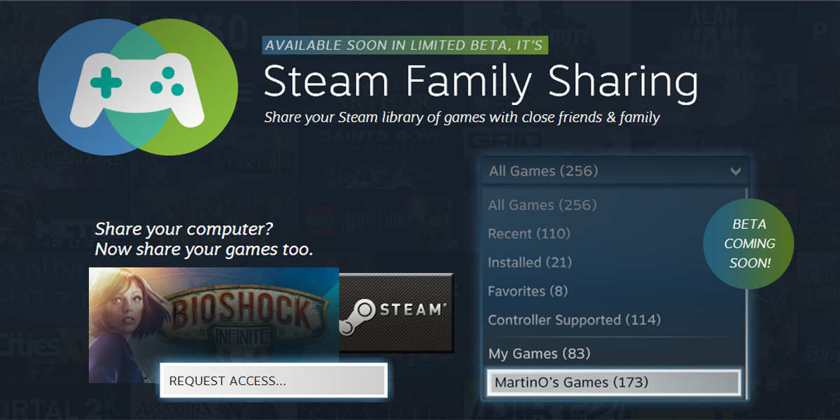 Just Why Steam Family Sharing Equals Awesome