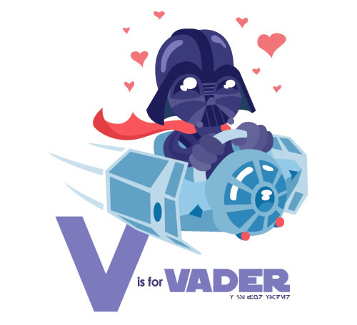 Vi is for Vader