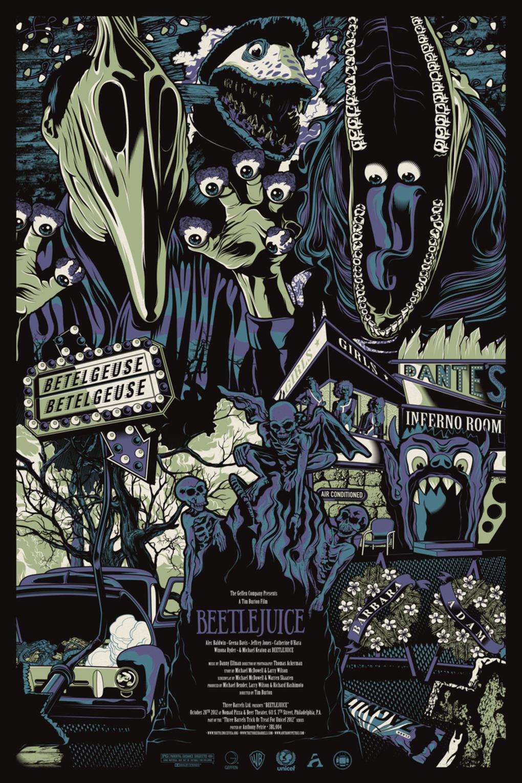 Alternative Movie Posters: Film Art from the Underground: Beetlejuice