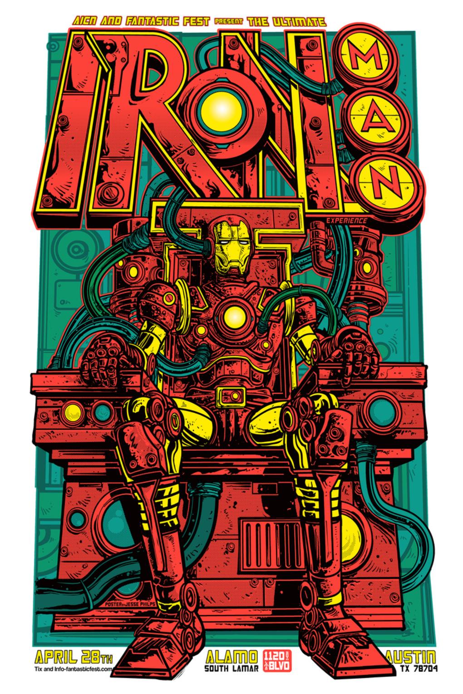 Alternative Movie Posters: Film Art from the Underground: Iron Man