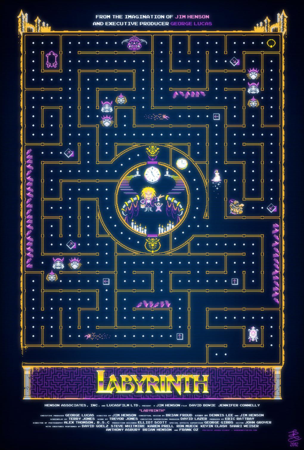 Alternative Movie Posters: Film Art from the Underground: Labyrinth