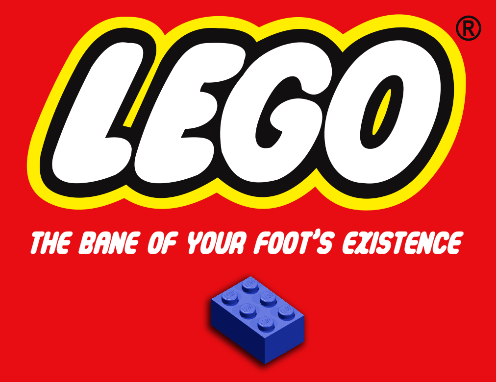 LEGO: The Bane of your foot's existence