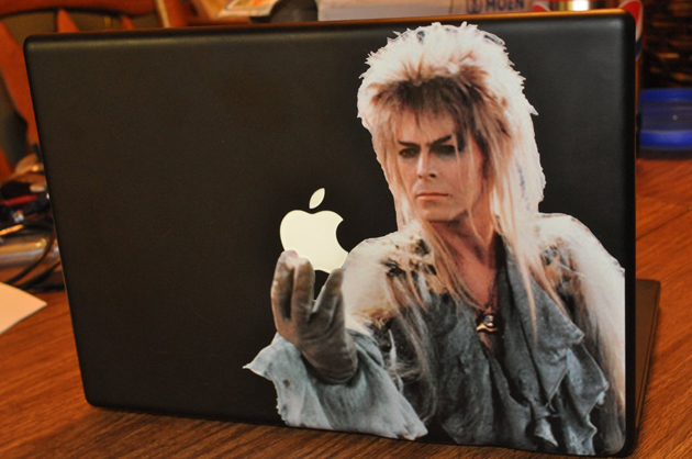 David Bowie in Labyrinth Decal