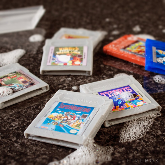 Game Boy Cartridges Soap