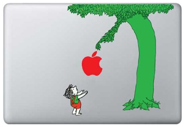 Macbook Covers: Giving Tree Decal