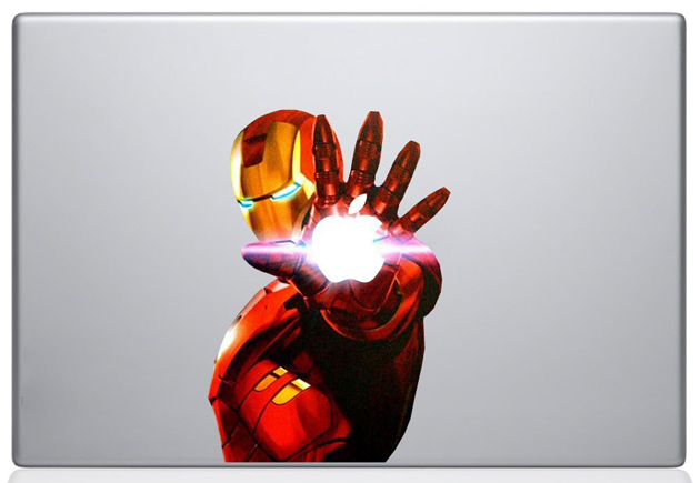 Macbook covers: Iron Man 2 Decal