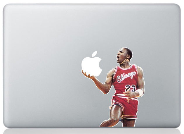 Macbook Covers: Michael Jordan Decal