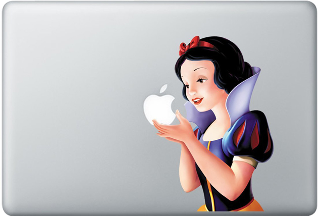Macbook Covers: Snow White Decal