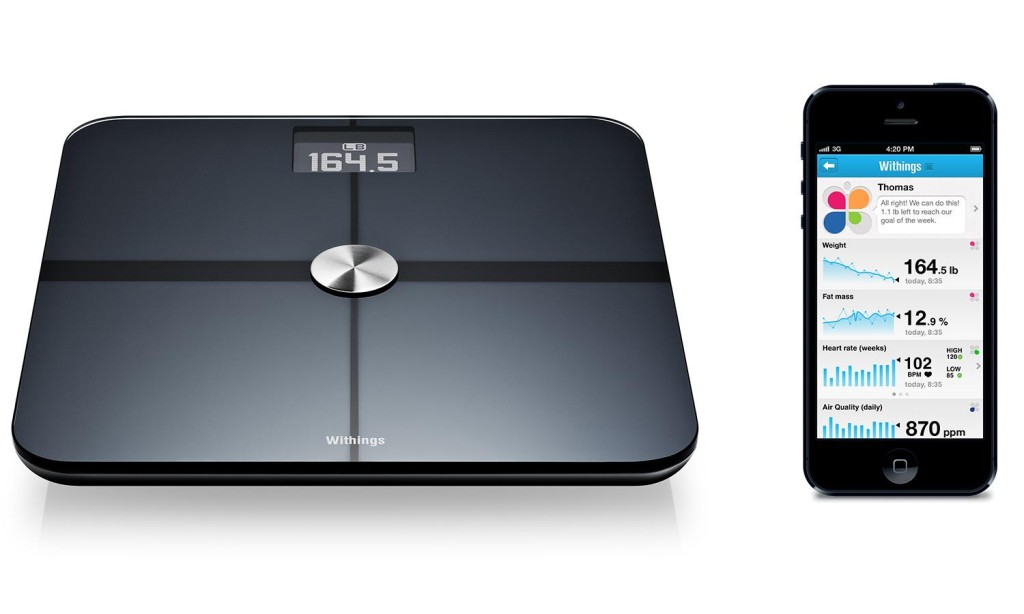 Fitness gadgets Withings-smart-body-analyzer