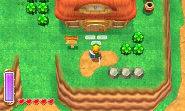 Best Holiday Games: Legend of Zelda: A Link Between Worlds