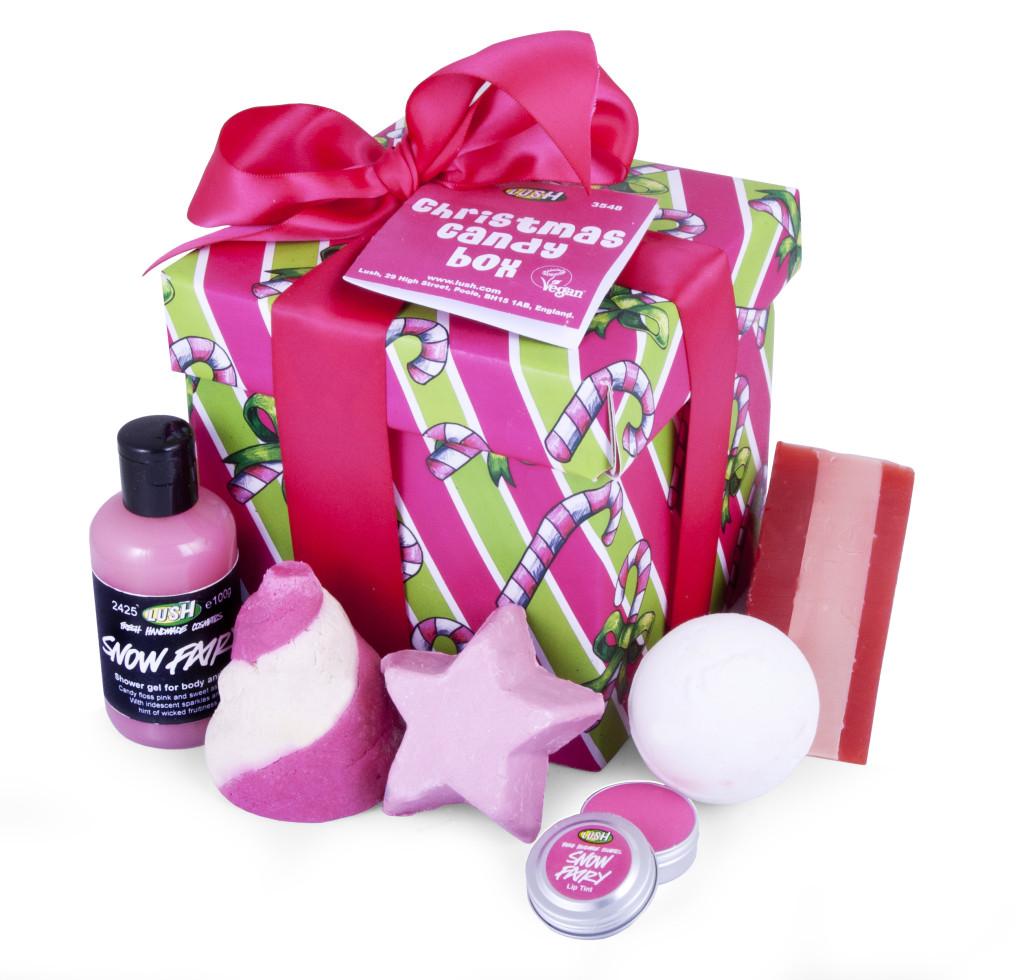 Stocking stuffers Lush gift set