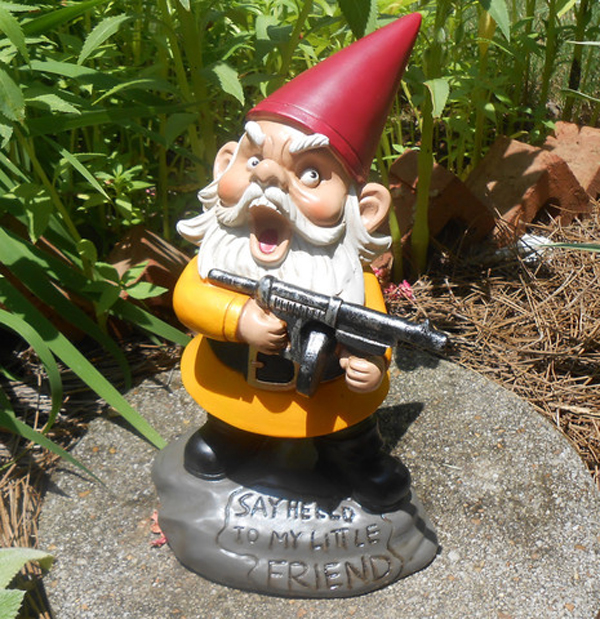 Marvelous Scarface Gnome