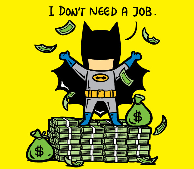 Superheroes with Part-Time Jobs 10