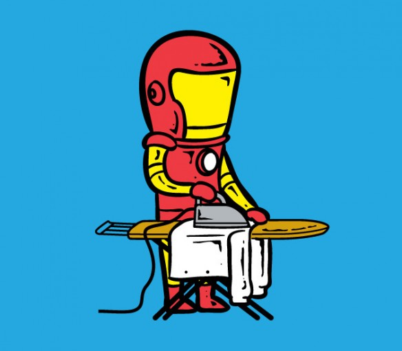 Superheroes with Part-Time Jobs 2