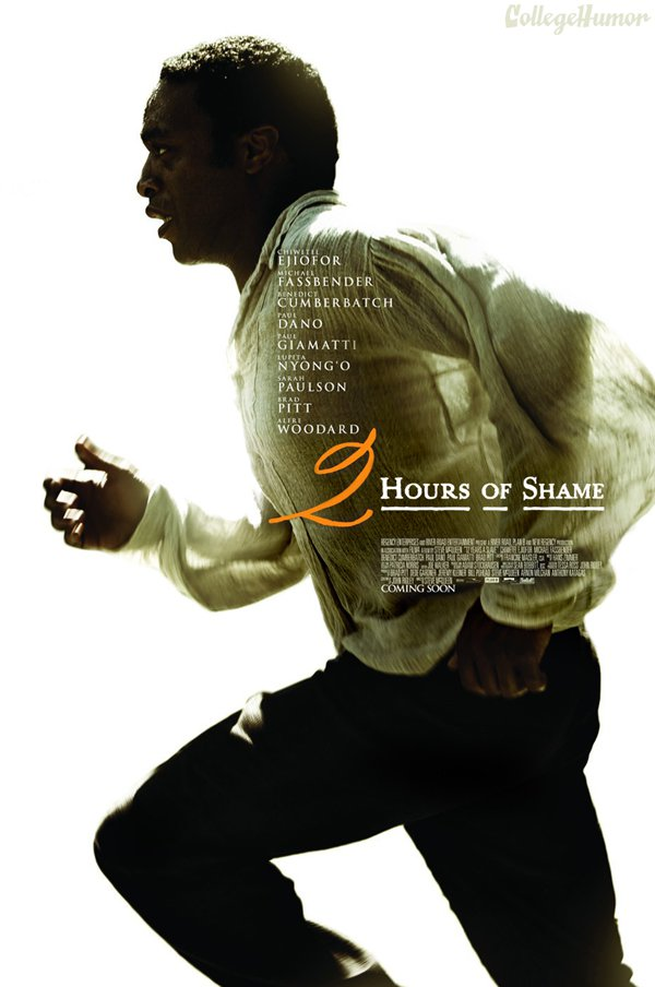 12 Years a Slave, 2 Hours of Shame