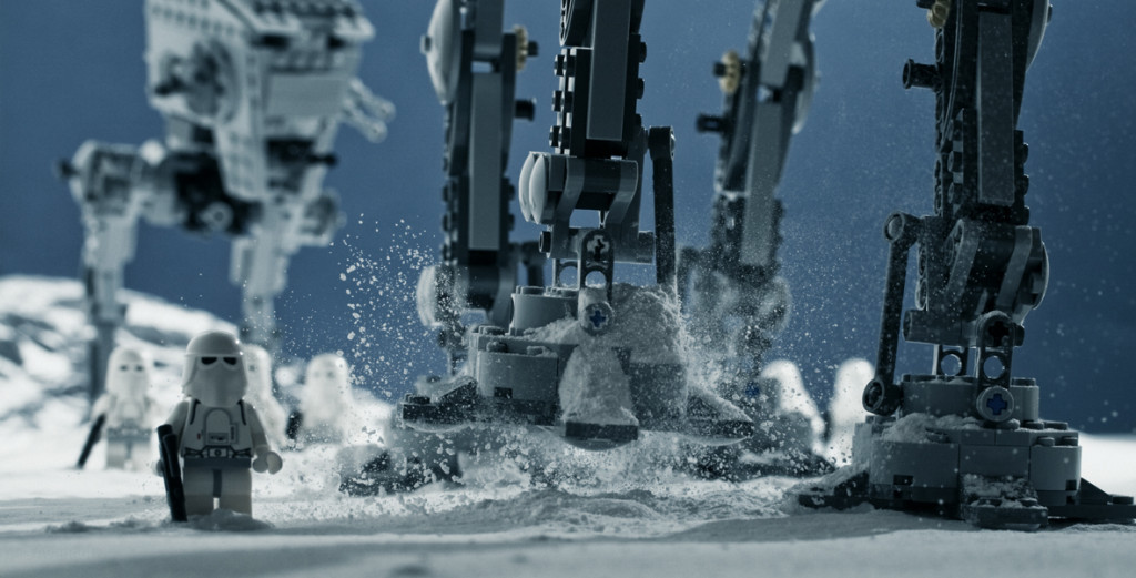 Steps of a Walker on Hoth Star Wars