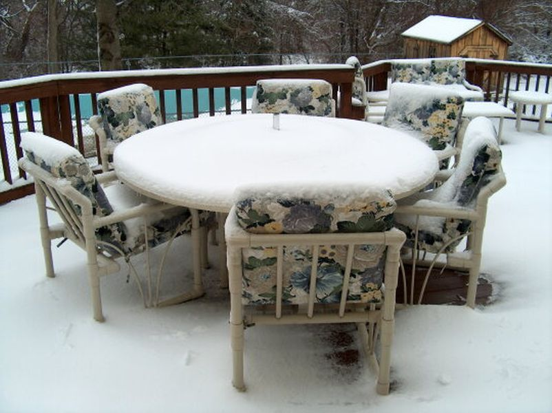 Best Deals to Buy Patio furniture in the winter