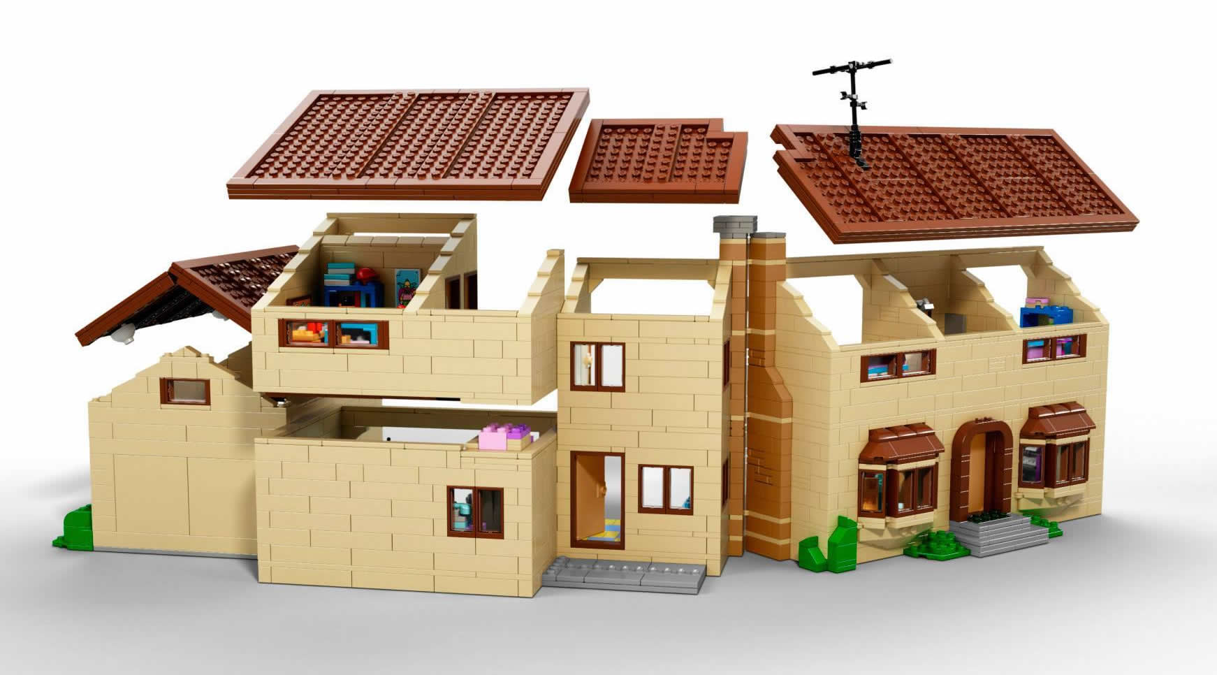 Shut Up And Take My Money Lego Simpsons Set