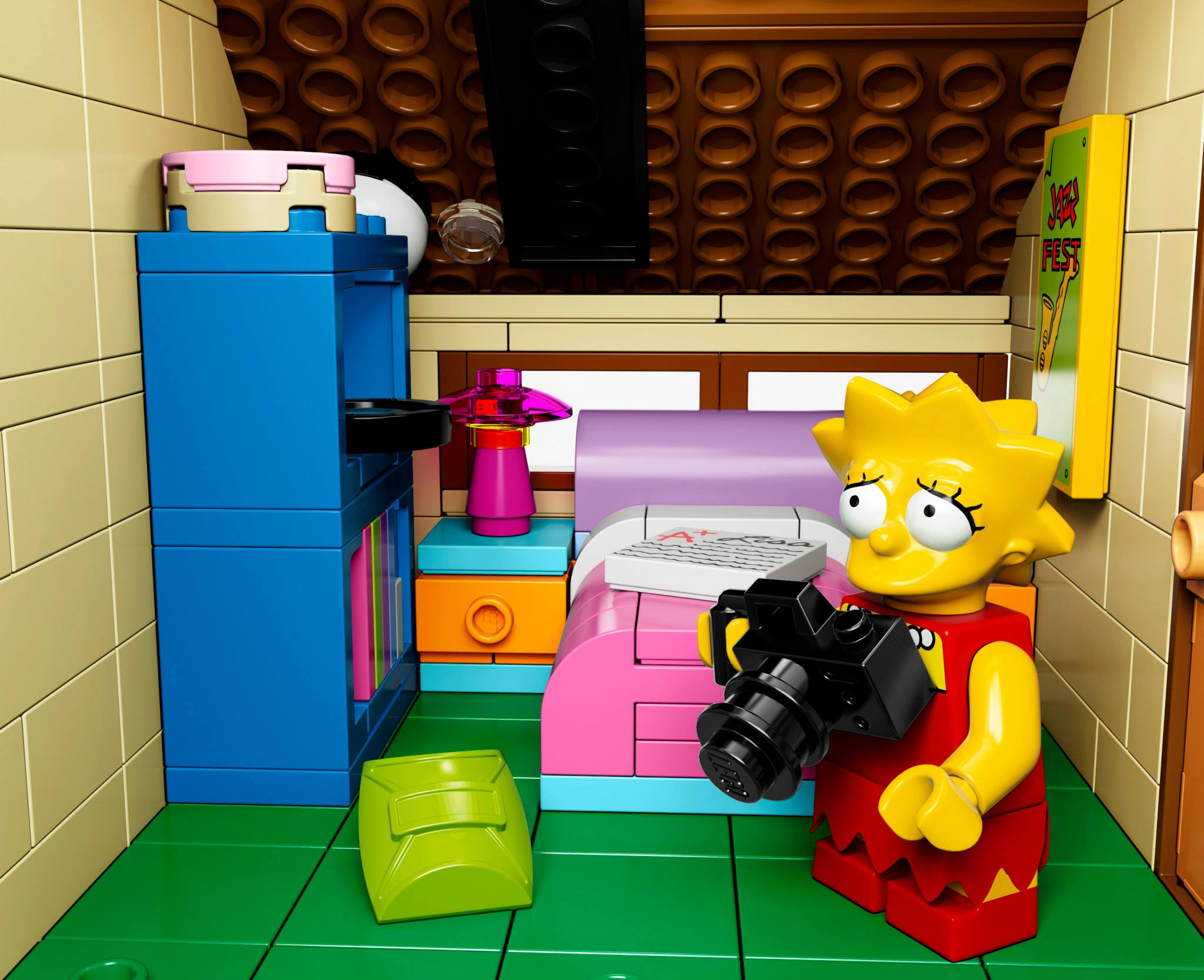 Shut up and take my money lego simpsons set for Chambre lego