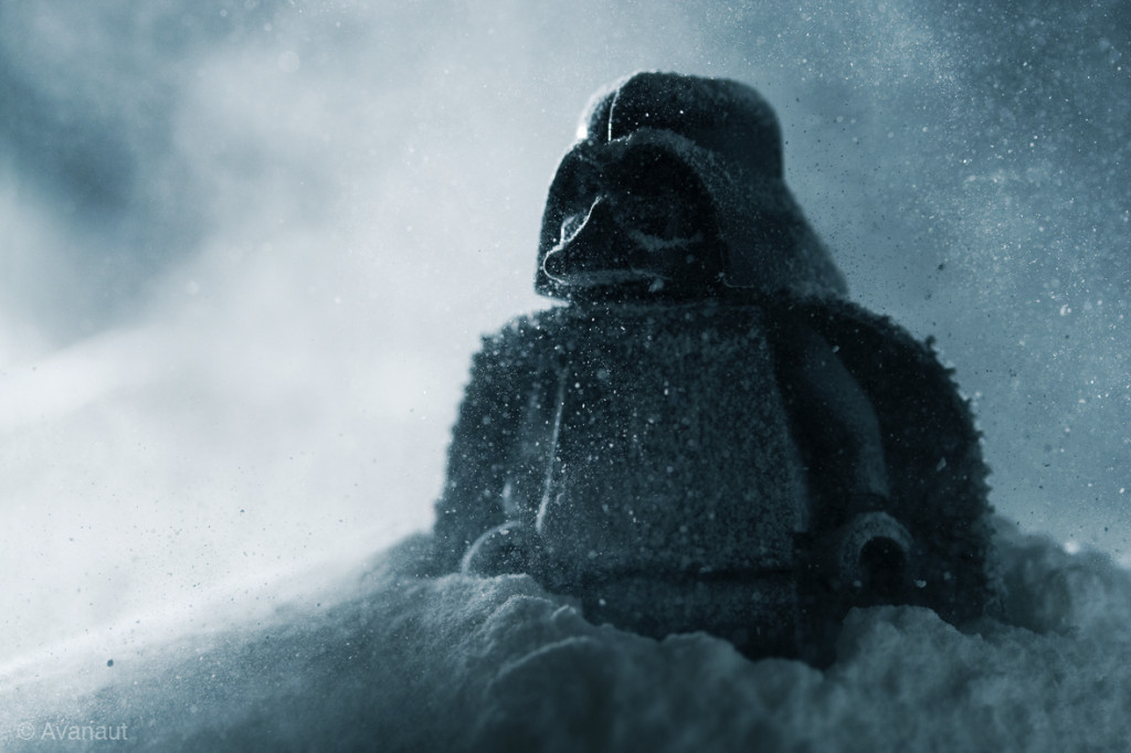 Darth Vader landing on Hoth