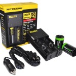 NITECORE i2 Universal Smart Battery Charger w/ Car Charger $12 at Amazon