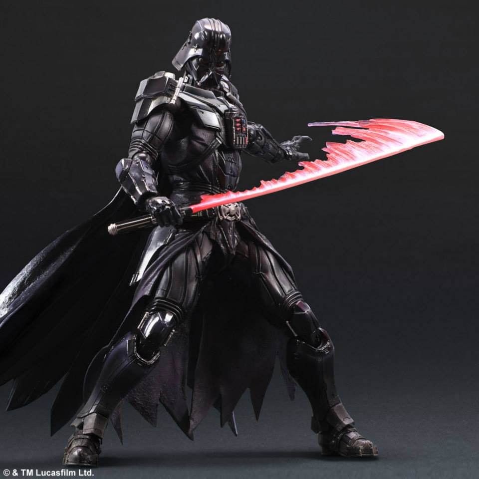 Darth Vader Square Enix Star Wars Figure Movement Effect