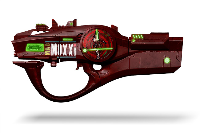 Borderlands 2 Moxxi Replica Gun Cosplay ThinkGeek