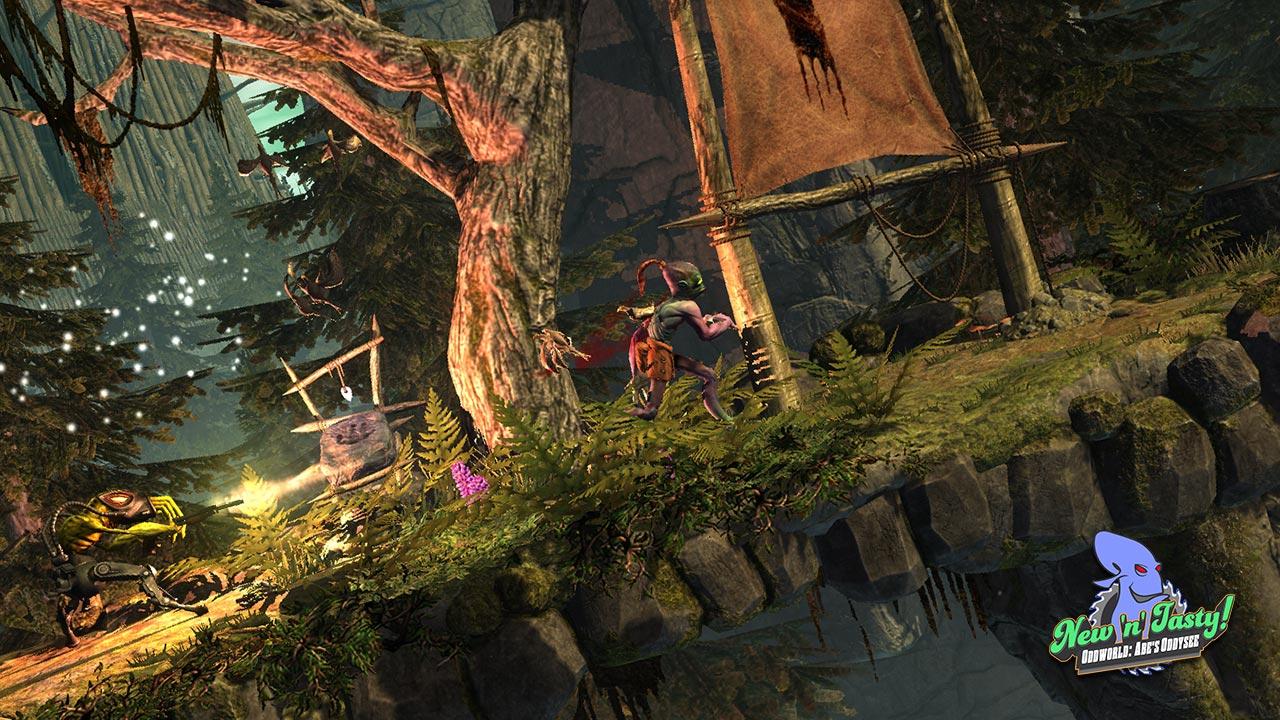 Oddworld New n Tasty Abe's Oddysee