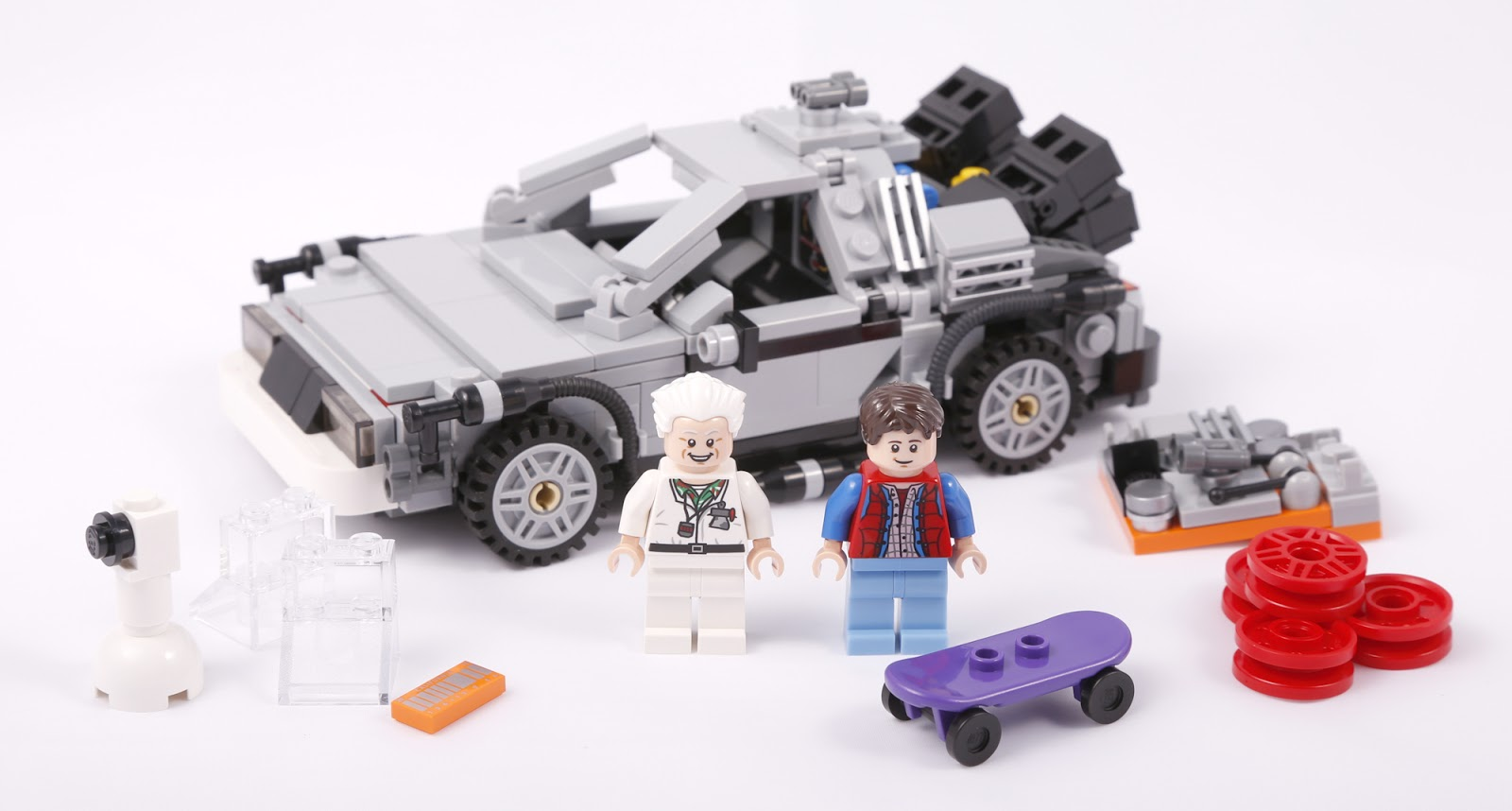 Delorean Time Machine 21103