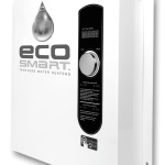 EcoSmart 27 5.3 GPM Electric Tankless Water Heater $360 at Amazon