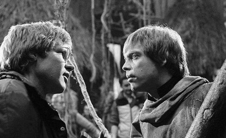 Han and Luke in ROTJ