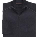 Joseph Merino Wool Blend Full Zip Sweater $20 at Jos A Bank