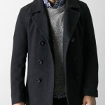 AEO Men's Double-Breasted Pea Coat $49 at American Eagle