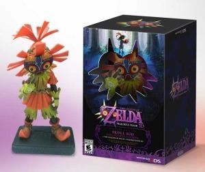 The Legend of Zelda: Majora's Mask 3D Skull Kid Figurine Bundle Gamestop