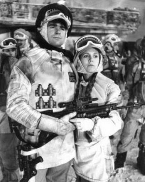 Treat Williams and Leia