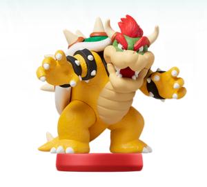Bowser Amiibo Super Mario