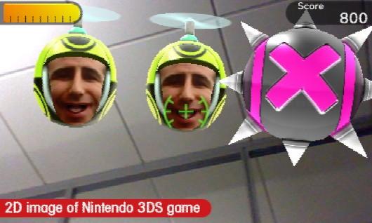 Face Raiders New Nintendo 3DS