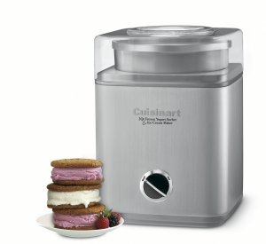 Cusinart Pure Indulgence Yogurt, Sherbet and Ice Cream Maker